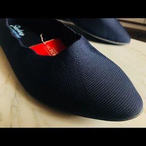 d6e3c948 Skechers Shoes | Nib Navy Cleo Bewitch Comfy Flats Sz 10 | Poshmark